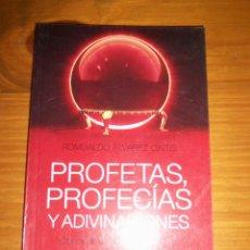 Libros de segunda mano: PROFETAS, PROFECIAS Y ADIVINACIONES, POR ROMUALDO ALVAREZ CINTIS - PLANETA - ARGENTINA - 2011/ NUEVO. Lote 45431534