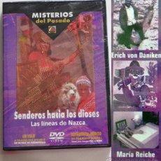 Libros de segunda mano: DVD SENDEROS HACIA LOS DIOSES LAS LÍNEAS DE NAZCA DOCUMENTAL MISTERIO ERICH VON DANIKEN MARÍA REICHE. Lote 46552677