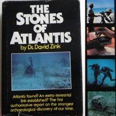 Libros de segunda mano: THE STONES OF ATLANTIS (PIEDRAS DE LA ATLÁNTIDA ) LIBRO EN INGLÉS MUY ILUSTRADO MISTERIO ARQUEOLOGÍA. Lote 45436035