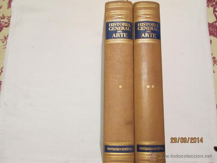 Libros de segunda mano: HISTORIA GENERAL DEL ARTE - VARIOS AUTORES - 1958 (2 VOL.) - Foto 2 - 45455236