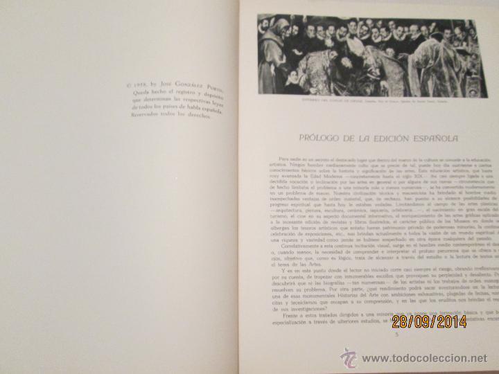 Libros de segunda mano: HISTORIA GENERAL DEL ARTE - VARIOS AUTORES - 1958 (2 VOL.) - Foto 4 - 45455236