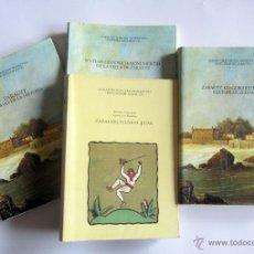 Libros de segunda mano: ESTUDIOS DE ZARAUTZ (4 TOMOS: A TRAVES DE LA HISTORIA, ZARAUZKO EUSKAL-JAIAK, ETC...). Lote 45462948