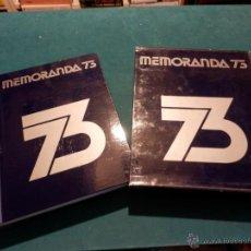Gebrauchte Bücher - 1973 - MEMORANDA 73 - DIFUSORA INTERNACIONAL - CON EL SINGLE (PAU CASALS-PICASSO-MUSIQUEROS...) - 45494738
