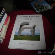 Libros de segunda mano: ELOGIO DEL HORIZONTE.UNA OBRA DE EDUARDO CHILLIDA.FERNANDO HUICI ESCULTURA.EDIC.CASTELLANO E INGLES . Lote 45500219