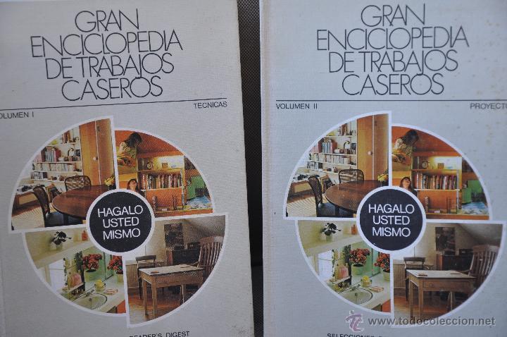 GRAN ENCICLOPEDIA DE TRABAJOS CASEROS (Libros de Segunda Mano - Bellas artes, ocio y coleccionismo - Otros)