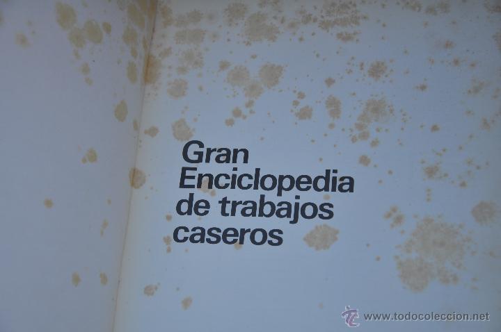 Libros de segunda mano: GRAN ENCICLOPEDIA DE TRABAJOS CASEROS - Foto 7 - 45504184