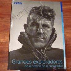 Libros de segunda mano: GRANDES EXPLORADORES DE LA HISTORIA DE LA HUMANIDAD HILLARY, MARCO POLO, COLÓN, ETC. Lote 45505178