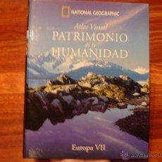 Libros de segunda mano: PATRIMONIO DE LA HUMANIDAD NATIONAL GEOGRAPHIC PAISES DEL NORTE DE EUROPA ISLANDIA, LITUANIA,LETONIA. Lote 45505238