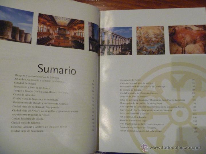 Libros de segunda mano: Monumentos del Patrimonio de la Humanidad de España - Foto 2 - 45505276