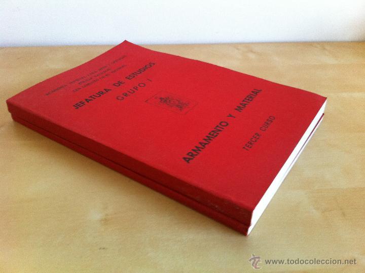 Libros de segunda mano: ARMAMENTO Y MATERIAL.TERRORISMO. 2 TOMOS. ACADEMIA ESPECIAL PARA JEFES Y OFICIALES. - Foto 3 - 44805349