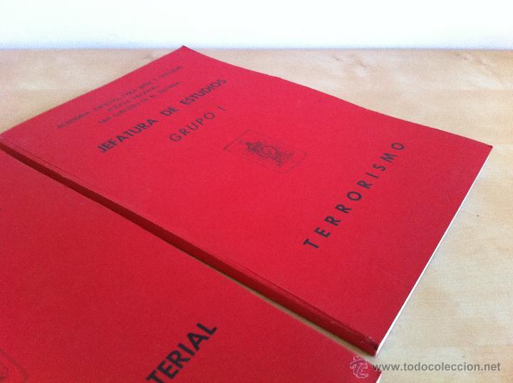 Libros de segunda mano: ARMAMENTO Y MATERIAL.TERRORISMO. 2 TOMOS. ACADEMIA ESPECIAL PARA JEFES Y OFICIALES. - Foto 4 - 44805349