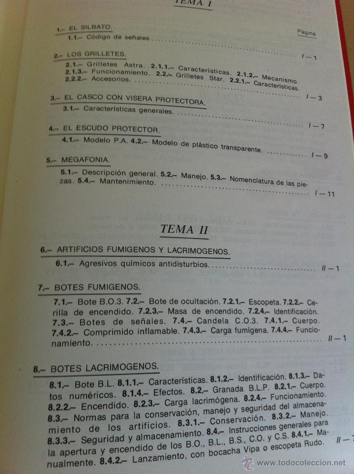 Libros de segunda mano: ARMAMENTO Y MATERIAL.TERRORISMO. 2 TOMOS. ACADEMIA ESPECIAL PARA JEFES Y OFICIALES. - Foto 15 - 44805349