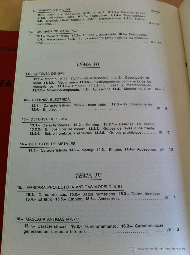 Libros de segunda mano: ARMAMENTO Y MATERIAL.TERRORISMO. 2 TOMOS. ACADEMIA ESPECIAL PARA JEFES Y OFICIALES. - Foto 16 - 44805349