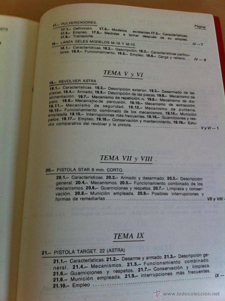 Libros de segunda mano: ARMAMENTO Y MATERIAL.TERRORISMO. 2 TOMOS. ACADEMIA ESPECIAL PARA JEFES Y OFICIALES. - Foto 17 - 44805349