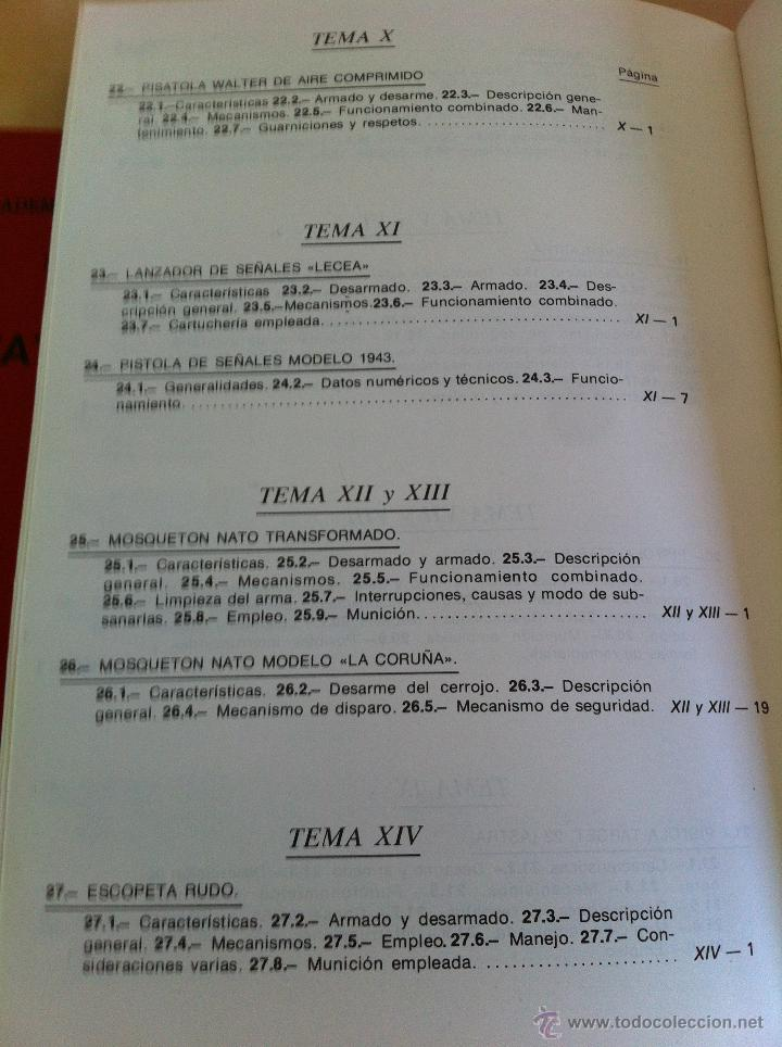 Libros de segunda mano: ARMAMENTO Y MATERIAL.TERRORISMO. 2 TOMOS. ACADEMIA ESPECIAL PARA JEFES Y OFICIALES. - Foto 18 - 44805349