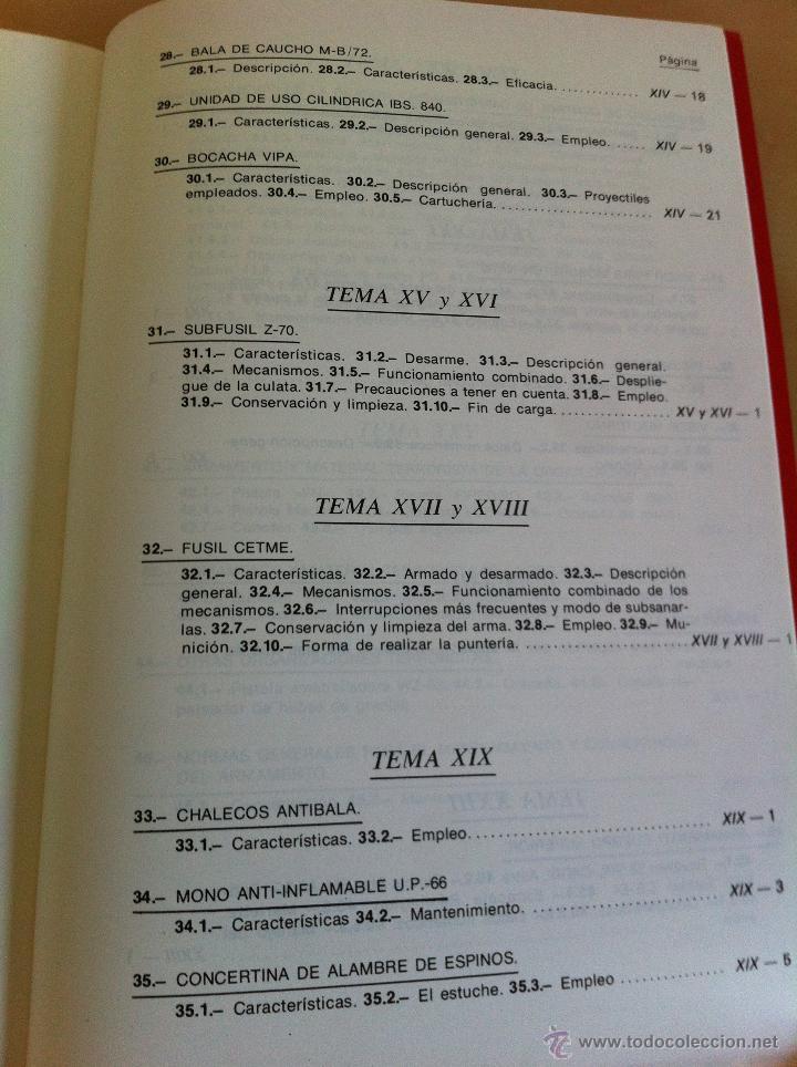 Libros de segunda mano: ARMAMENTO Y MATERIAL.TERRORISMO. 2 TOMOS. ACADEMIA ESPECIAL PARA JEFES Y OFICIALES. - Foto 19 - 44805349