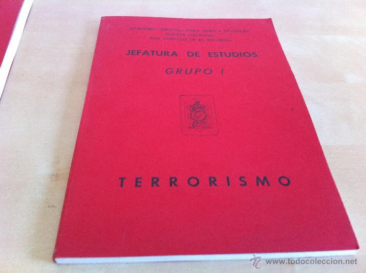 Libros de segunda mano: ARMAMENTO Y MATERIAL.TERRORISMO. 2 TOMOS. ACADEMIA ESPECIAL PARA JEFES Y OFICIALES. - Foto 22 - 44805349