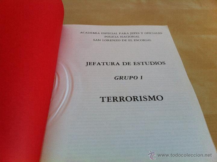Libros de segunda mano: ARMAMENTO Y MATERIAL.TERRORISMO. 2 TOMOS. ACADEMIA ESPECIAL PARA JEFES Y OFICIALES. - Foto 23 - 44805349