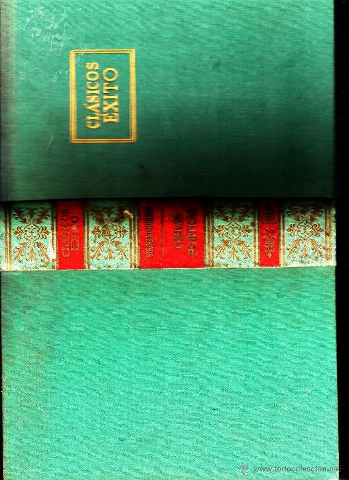 OBRA POÉTICA VIRGILIO- HORACIO (Libros de Segunda Mano (posteriores a 1936) - Literatura - Otros)