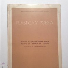 Libros de segunda mano: PLÁSTICA Y POESÍA. DIBUJOS DE JOAQUÍN TORRES-GARCÍA Y POEMAS DE ESTHER CÁCERES.. Lote 45561645