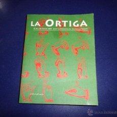 Libros de segunda mano: RARA REVISTA LA ORTIGA 36-38 2002 LITERATURA PENSAMIENTO ARTE ANTONIO MONTESINO. Lote 45562405