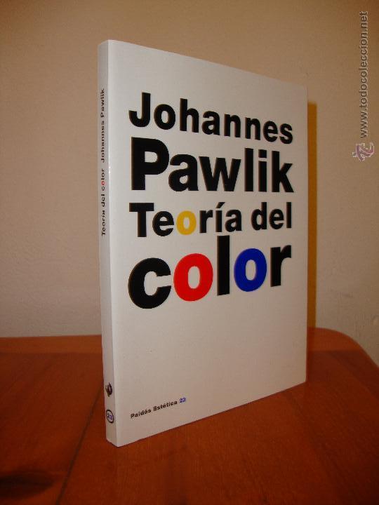 teoría del color - johannes pawlik - paidós - m - Comprar en ...