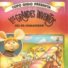 Libros de segunda mano: SERIE TOPO GIGIO PRESENTA: LOS GRANDES INVENTOS DEL SR. HUMANIDAD: LOS AVIONES - SEDMAY EDIC - 1976.. Lote 45595947
