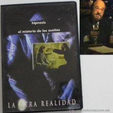 Libros de segunda mano: DVD HIPNOSIS EL MISTERIO DE SUEÑOS LA OTRA REALIDAD JIMÉNEZ DEL OSO ESOTERISMO DOCUMENTAL - NO LIBRO. Lote 45625816