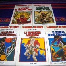 Libros de segunda mano: LA MÁQUINA DEL TIEMPO NºS 1, 2, 10, 11, 12 Y 13. TIMUN MAS AÑOS 80. BUEN ESTADO.. Lote 45627565