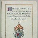 Libros de segunda mano: EL SANTUARIO DE NUESTRA SEÑORA DE LA MERCED, PATRONA DE JEREZ DE LA FRONTERA (CÁDIZ). Lote 45628040