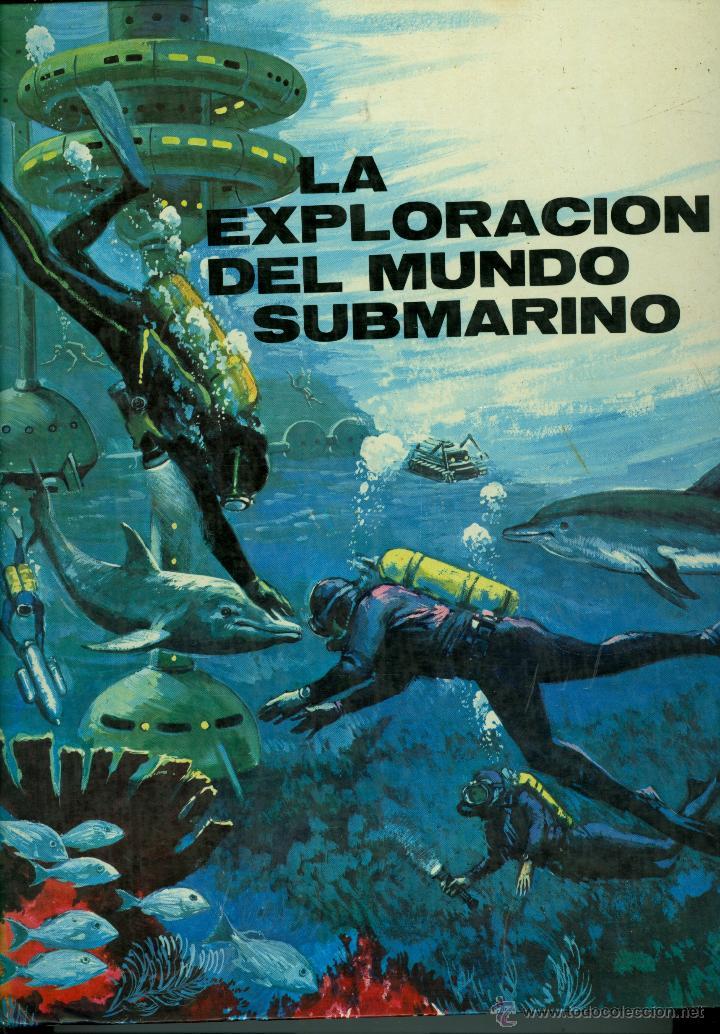LA EXPLORACION DEL MUNDO SUBMARINO - ANTONIO RIBERA (TAPA DURA) (Libros de Segunda Mano - Literatura Infantil y Juvenil - Otros)
