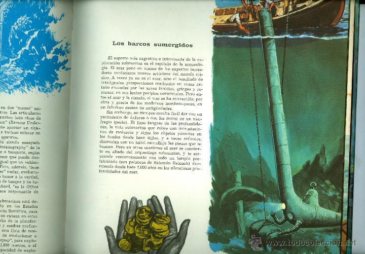 Libros de segunda mano: LA EXPLORACION DEL MUNDO SUBMARINO - ANTONIO RIBERA (TAPA DURA) - Foto 2 - 45654213
