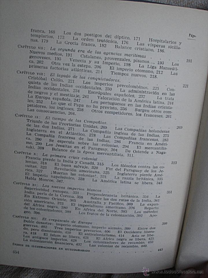 Libros de segunda mano: Historia de la colonizaciones, René Sédillot - Foto 15 - 45661466