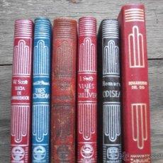 Libros de segunda mano: LOTE DE 6 LIBROS CRISOL AGUILAR NUM 12, 46, 136, 141, 212 Y 43 DE UNO QUE NO ES CRISOL. Lote 45666129