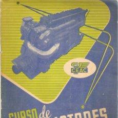 Libros de segunda mano: 1 REVISTA FASCICULO - AÑO 1958 - CURSO DE MOTORES ( ENVIO 27 - CON DOSIER DE EJERCICIOS INCLUIDO ). Lote 45682361