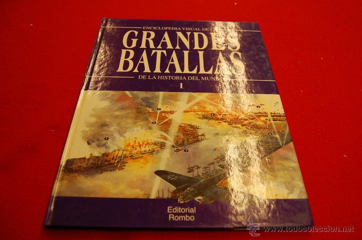 Libros de segunda mano: Grandes batallas de la historia del mundo, ediciones Rombo. - Foto 2 - 45689454
