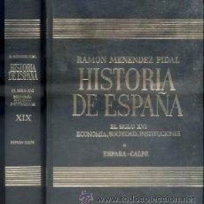 Libros de segunda mano: RAMON MENENDEZ PIDAL. HISTORIA DE ESPAÑA. TOMO XIX. A-HE-555. Lote 45745911
