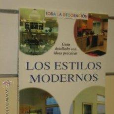 Libros de segunda mano: LOS ESTILOS MODERNOS - AGATA OCASION. Lote 45752787