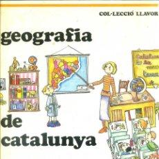 Libros de segunda mano: PANAREDA - PILARÍN BAYÉS : GEOGRAFIA DE CATALUNYA (1977) CATALÁN -GRAN FORMATO. Lote 129581556