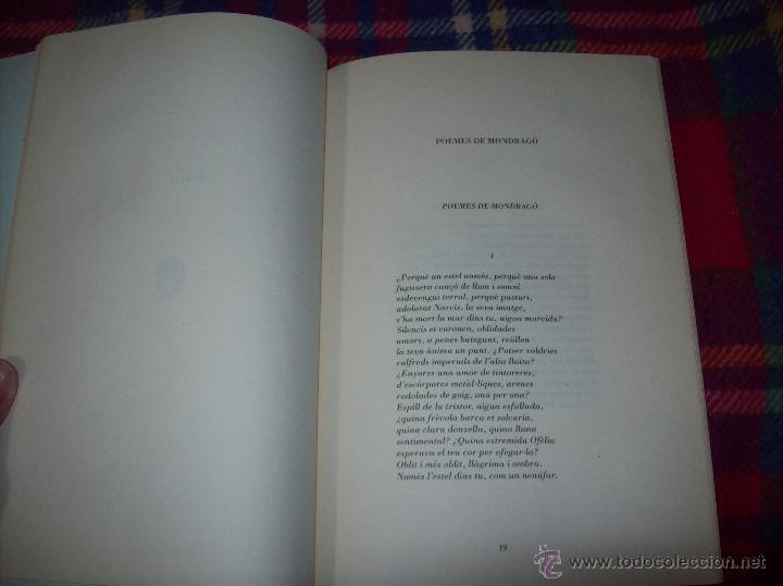 Libros de segunda mano: EL QUE VOLIA DIR-VOS.ANTOLOGIA.JOSEP M.LLOMPART. 1993.LLIBRE MOLT CERCAT.UNA JOIA!!!. VEURE FOTOS. - Foto 7 - 45762001