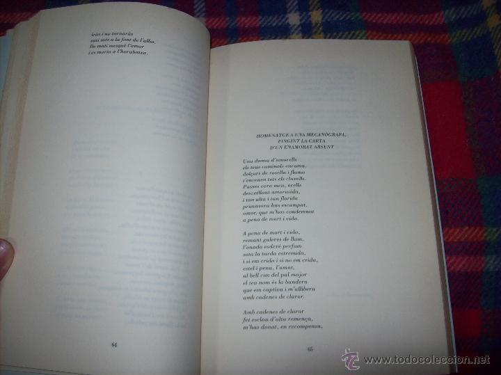 Libros de segunda mano: EL QUE VOLIA DIR-VOS.ANTOLOGIA.JOSEP M.LLOMPART. 1993.LLIBRE MOLT CERCAT.UNA JOIA!!!. VEURE FOTOS. - Foto 9 - 45762001