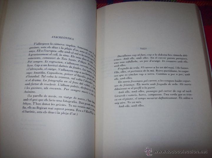 Libros de segunda mano: EL QUE VOLIA DIR-VOS.ANTOLOGIA.JOSEP M.LLOMPART. 1993.LLIBRE MOLT CERCAT.UNA JOIA!!!. VEURE FOTOS. - Foto 10 - 45762001