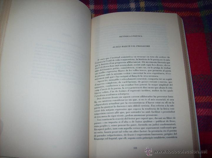 Libros de segunda mano: EL QUE VOLIA DIR-VOS.ANTOLOGIA.JOSEP M.LLOMPART. 1993.LLIBRE MOLT CERCAT.UNA JOIA!!!. VEURE FOTOS. - Foto 11 - 45762001