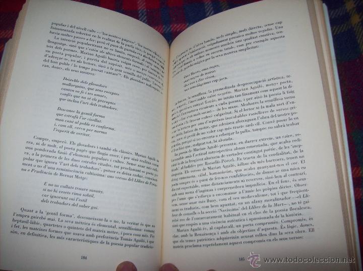 Libros de segunda mano: EL QUE VOLIA DIR-VOS.ANTOLOGIA.JOSEP M.LLOMPART. 1993.LLIBRE MOLT CERCAT.UNA JOIA!!!. VEURE FOTOS. - Foto 13 - 45762001