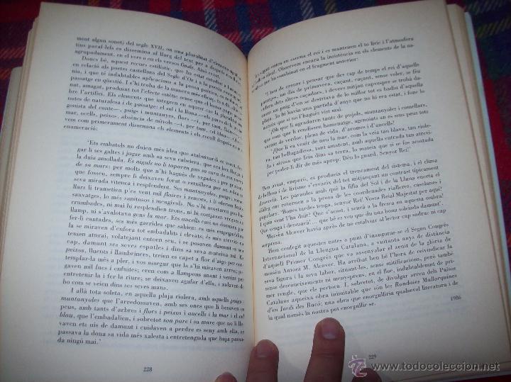 Libros de segunda mano: EL QUE VOLIA DIR-VOS.ANTOLOGIA.JOSEP M.LLOMPART. 1993.LLIBRE MOLT CERCAT.UNA JOIA!!!. VEURE FOTOS. - Foto 14 - 45762001