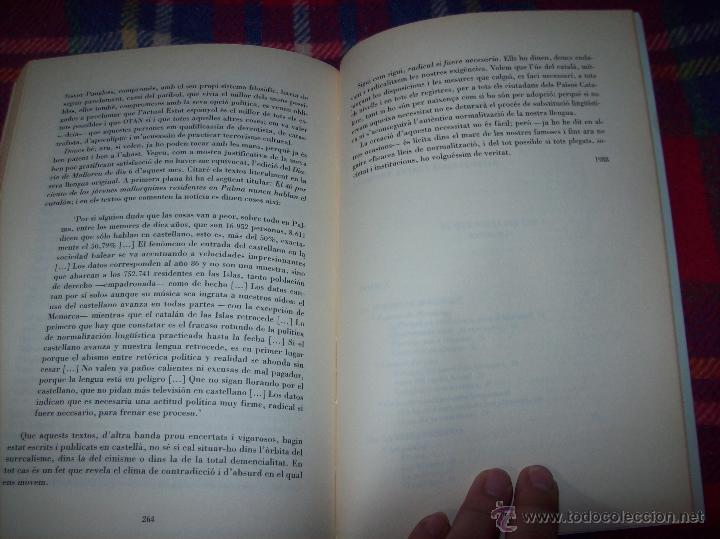 Libros de segunda mano: EL QUE VOLIA DIR-VOS.ANTOLOGIA.JOSEP M.LLOMPART. 1993.LLIBRE MOLT CERCAT.UNA JOIA!!!. VEURE FOTOS. - Foto 15 - 45762001
