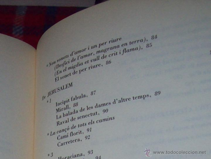 Libros de segunda mano: EL QUE VOLIA DIR-VOS.ANTOLOGIA.JOSEP M.LLOMPART. 1993.LLIBRE MOLT CERCAT.UNA JOIA!!!. VEURE FOTOS. - Foto 24 - 45762001