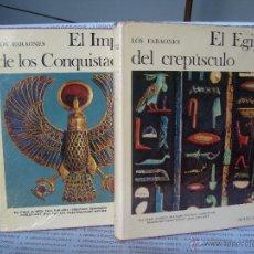 Libros de segunda mano: EGIPTO DEL CREPUSCULO Y EL IMPERIO DE LOS CONQUISTADORES - AGUILAR. Lote 45762571