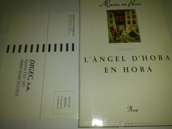 L´ANGEL D´HORA EN HORA MIGUEL DE PALOT NUEVO 95 (Libros de Segunda Mano - Pensamiento - Otros)