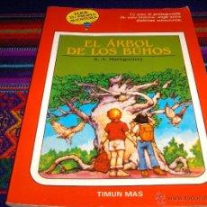 Libros de segunda mano: ELIGE TU PROPIA AVENTURA GLOBO AZUL Nº 33. TIMUN MAS 1989. EL ÁRBOL DE LOS BÚHOS. DIFÍCIL!!!!. Lote 45814286